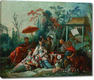 Франсуа Буше. Китайский садик