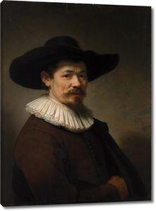 Рембрандт. Портрет Германа Думера