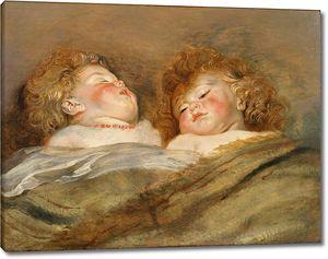 Рубенс. Два спящих ребенка