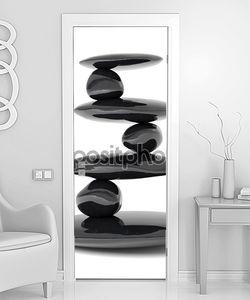 Zen камни баланс концепция