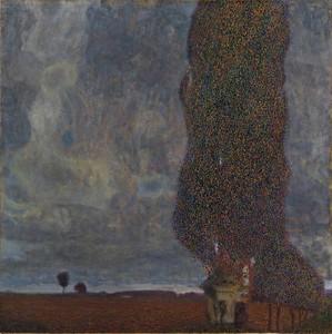 Густав Климт. Большой тополь II
