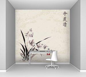 Традиционные восточные Орхидея