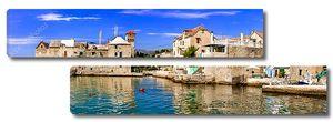 Хорватия- старый морской замок