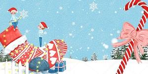 Рождественский носок, конфета