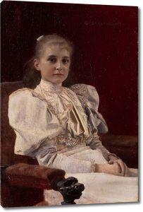 Климт Густав. Портрет девушки