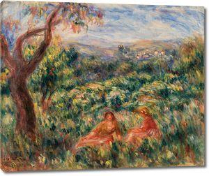 Ренуар. Пейзаж 1916