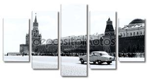 Москве на Красной площади 1962