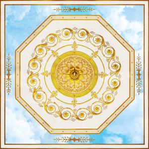 Небо с восьмиугольной розеткой