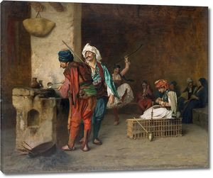 Жером. Кафе в Каире (Отливка пуль)