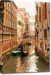 Гранд-канал в закат, Венеция, Италия