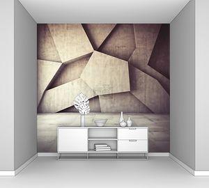 Абстрактная бетонная стена