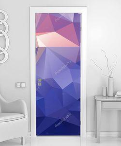 Цветной многоугольный фон
