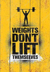 Тренировки и фитнес мотивация цитаты. Творческий вектор типографии гранж плакат концепция