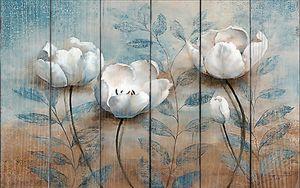 Объемные цветы