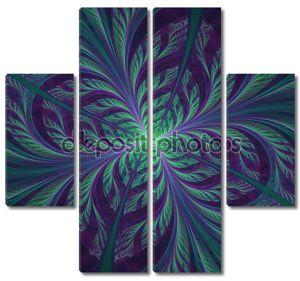 Абстрактные цветочные формы