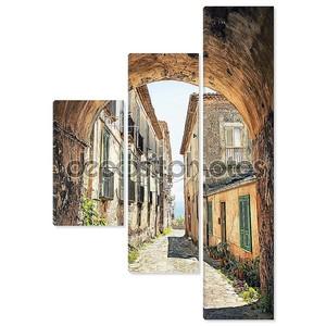 живописный уголок в Тоскане, Италия