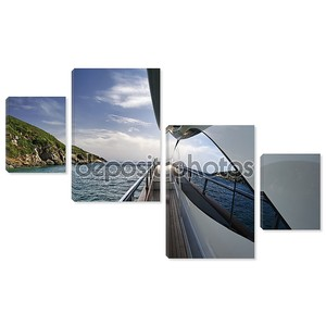 Италия, Тоскана, остров Эльба, роскошная яхта азимут 75