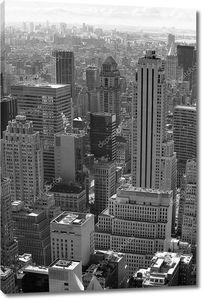 Нью-Йорк, черный и белый