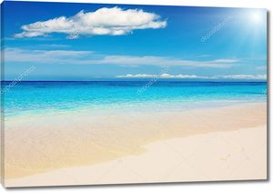 Тропический пляж Андаманского моря