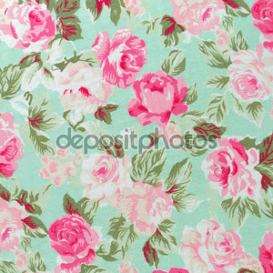 узор ткани розы