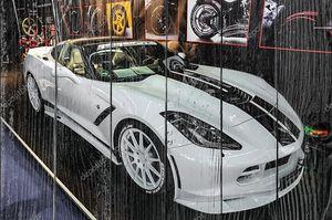 FRANKFURT - SEPT 2015: Chevrolet Corvette Stingray Convertible C