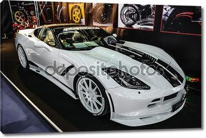 FRANKFURT - SEPT 2015: Chevrolet Corvette Stingray Convertible C
