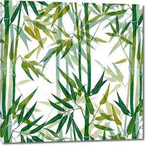 Бамбук - растительный узор