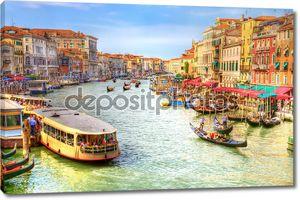 Вид Венеция Гранд-канал