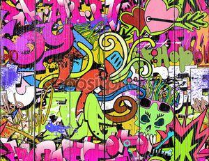 Граффити в стиле хип-хоп