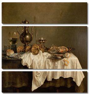 Виллем Клас Хеда. Завтрак, на столе омар