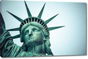 Голова Статуя свободы в Нью-Йорке