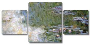 Моне Клод. Пруд с водяными лилиями, 1917-19 01