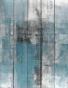 Абстракция в серо-голубых тонах