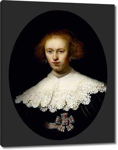 Рембрандт. Портрет молодой женщины