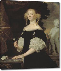 Ван Ден Темпель Абрахам. Женский портрет