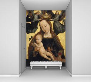 Герард Давид. Мадонна с младенцем и ангелами