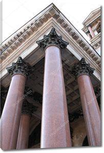 Исаакиевский собор, колонны