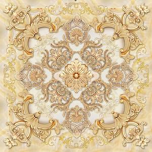 Восточный орнамент золотом