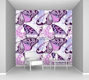 Бесшовные крыла бабочки