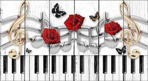 Клавиши и розы
