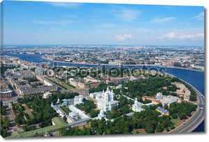 Вид Birdseye Санкт-Петербурга