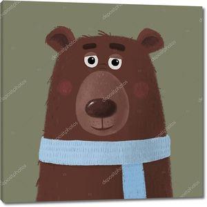 Медведь из мультфильма