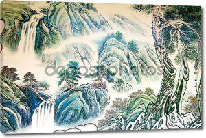 китайская пейзажная живопись