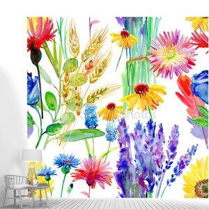 Иллюстрация акварельные цветы