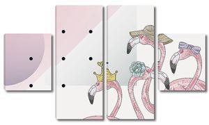 Фламинго модницы