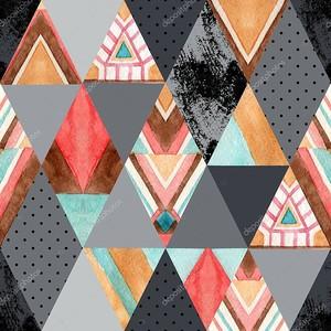 Ромбы из треугольников