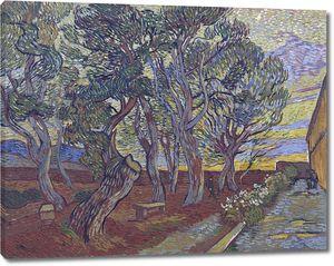 Ван Гог. Сад приюта в Сен-Реми
