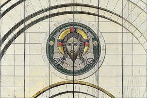 Икона врат собора Христа Спасителя в Калининграде