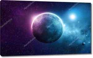 Глубокий Космос Планета