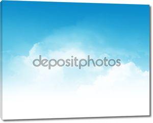 Облачный фон резюме неба